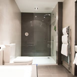 One of the bathrooms at the luxury self-catering let in the heart of St Andrews.